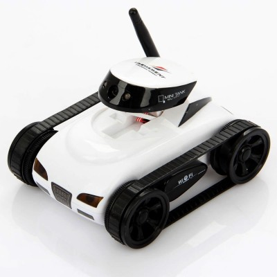 Saffire Rechargeable WiFi Spy Tank with Camera