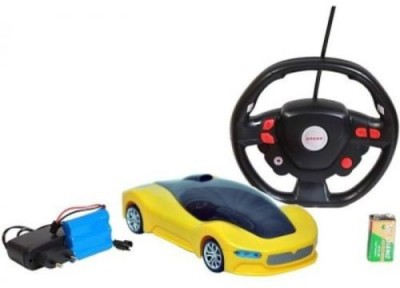 Gadget Bucket Bounce Roll Over Stunt With Steering Remote Control Car For Kids