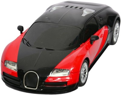 Baby First Bugatti Red 1:16radio Control Remote Car