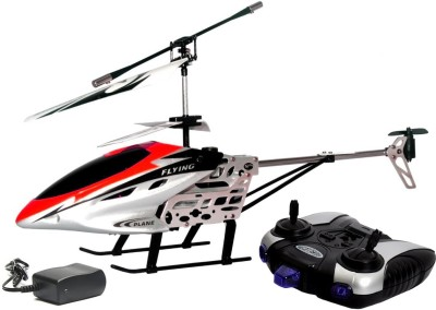 FLIPZON RC Flying Helicopter 2 Channels Infrared Control With Led