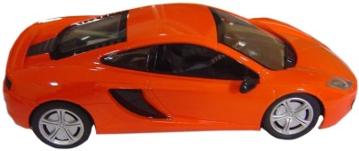 Brunte 1:18 Orange Sports Remote Car With Rechargeable Battery