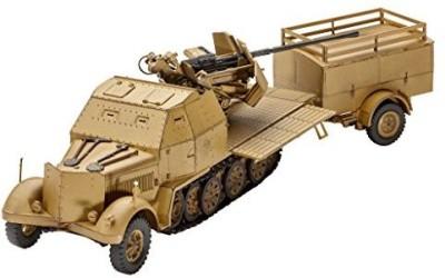 Revell of Germany Revel Model Kit Sd Kfz 7/2 Halftrack 172 Scale 03207 New