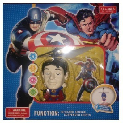 ToysBuggy Flying Superman Induction Control Aircraft