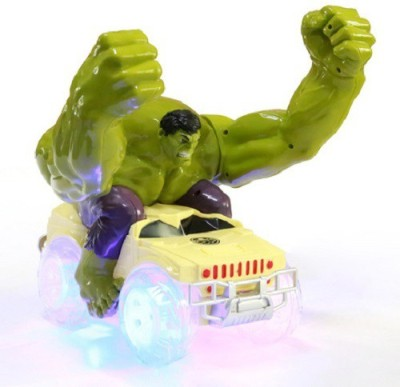 ToysBuggy 360 Degree Hulk Dumpers Rechargeable Stunt Car