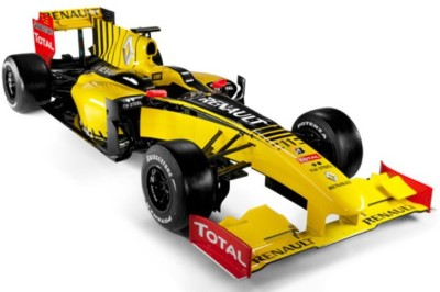 New Ray Licensed Remote Control Renault F1 Team Racing Car