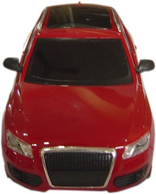 Brunte 1:18 Red City Remote Car With Rechargeable Battery