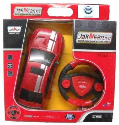 Alexus Jakmean Remote Control Rechargeable Car With Steering