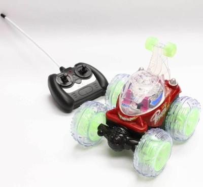 Jamosan Stunt Car Rotate 360 Degree(Red)