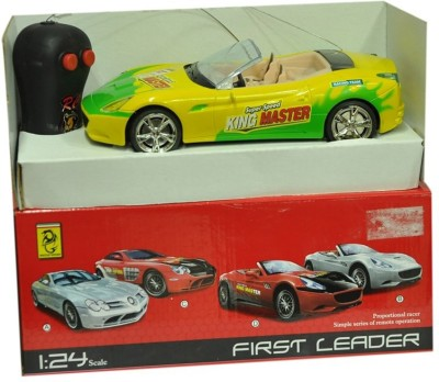 First Leader Remote Sports Car Yellow