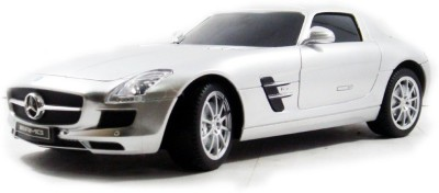 The Flyer's Bay Licenced RC Mercedes-Benz SLS AMG 1:24 Scale Full Function with Shock Absorber and LED Lights(Multicolor)