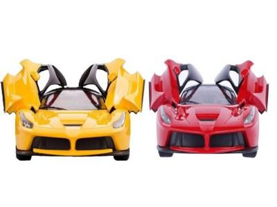 Dinoimpex Rechargeable Ferrari Style Remote Control Car Combo