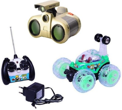 New Pinch Remote control Rechargeable Stunt Car with binocular toy
