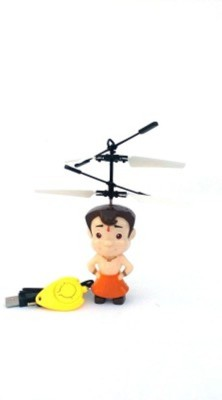 Dinoimpex Chhota bheem flying toys sensor and remote operated