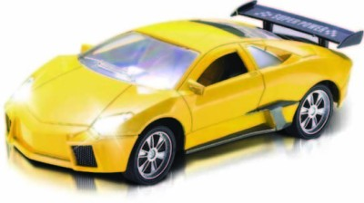 Majorette Full Function Speed Master Car Yellow