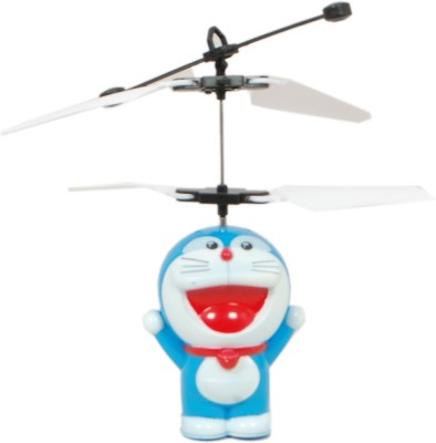 TRD Store Doraemon Aircraft Flying Induction Control Toy Gift For Kids