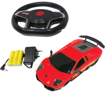 Sunflower Products Gravity Sensing Recharable Remote Control Car-Red