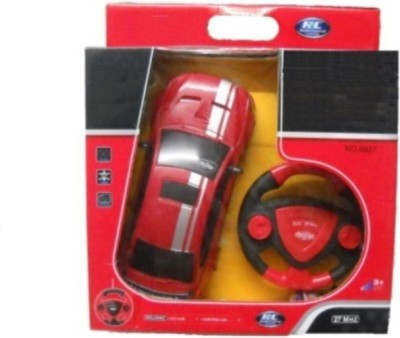 Dinoimpex Dino Remote Control Rechargeable Red Car With Steering