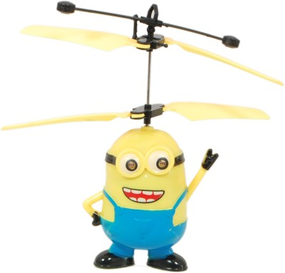TRD Store Minion Aircraft Despicable Me 2 Flying Induction Control Toy Gift