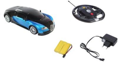 Taaza Garam 1:16 Blue Bugatti Gravity Sensor Steering Wheel Car