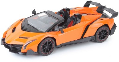 RIANZ Remote Controlled Orange Lamborghini with opening doors 1:14