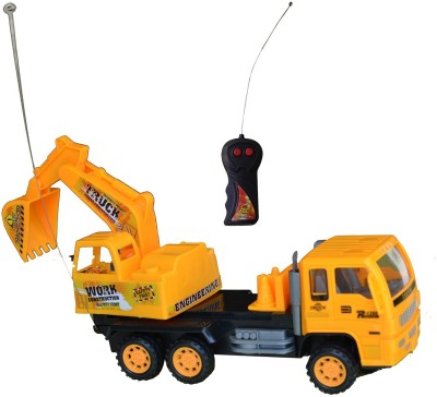 Taaza Garam High Quality RC Remote Control JCB Construction Builder Truck Toy - gift