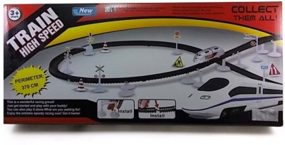Turban Toys High Speed Metro With Flyover Track Battery Operated Train