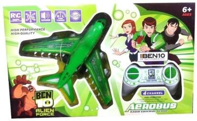 Infomya Ben 10 Alien Force Aerobus Remote Control 4 Channel