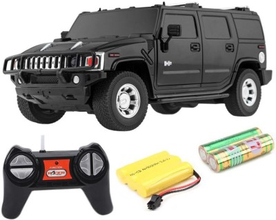 Cuddles collections Rc Rechargeble Toy Car H2 Suv(Black)