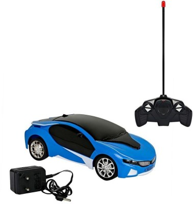 SRIHPE Bmw I8 3d Remote Control Electric Chargeable Lightning Famous Car MULTICOLOUR