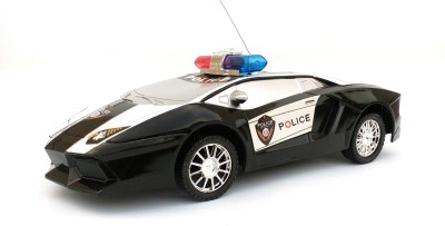 asa products police car remote control operated with lights