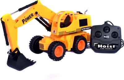 adiEstore Wired Remote Control JCB RC Crane Truck Excavator Shovel Loader Toy