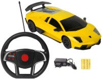A R ENTERPRISES Lamborghini Remote Control Rechargeable Toy Car With Gravity Sensing (MULTI)