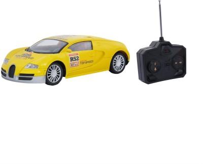 Emob Fully Loaded Radio Control Car Yellow Sports Model
