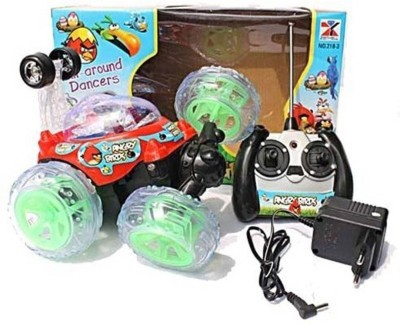 Lotus Angry Birds Stunt Car With LED Lights