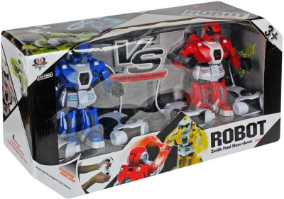 Just Toyz Battle Transformation Deformation Remote Control Stunt 360 degrees Rotate Robot cannon Tank car