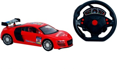 Montez Furious 5 Fully Loaded Remote control car - red
