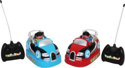 Saffire Rechargeable Bump ,n Chuck Bumper Cars Toy