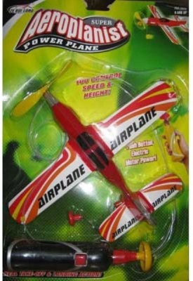 KTS Battery Operated Super Aeroplanist Power Plane (Multicolor)(Red)