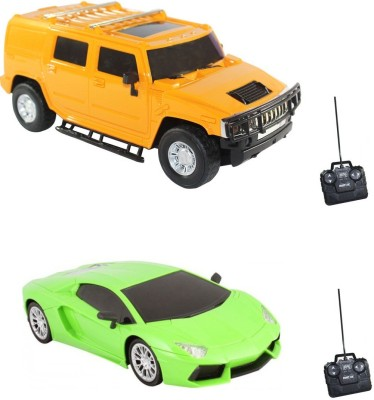 i-gadgets Pack of Hummer and Lamborghini Chargeable Remote Cars