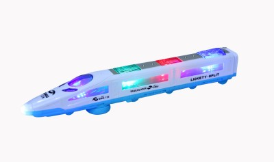sharp n style Emu Metro LED Train With Light & Music & Self Rotating