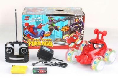 ToysBuggy Spiderman Remote Controlled Stunt Car