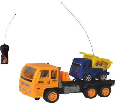 Taaza Garam Imported High Quality RC Construction Remote Control Truck - Gift Toy