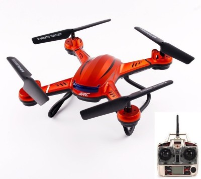 Toys Bhoomi RC Quadcopter Helicopter Ready to Fly Headless Drone with One Key Return Mode - 300M Estimated Flying Range ( Non Camera Version )