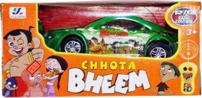 Turban Toys Remote Control Chotta Bheem Car With Light And Sound