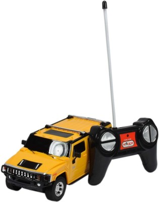 Planet of Toys 1:24 Scale Radio Control Model Car(Yellow)