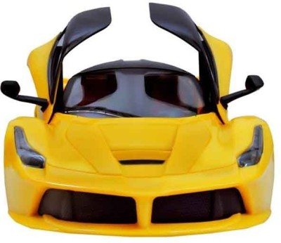 Reyhawk Ferrari Style RC Rechargeable Car With Opening Doors - Yellow