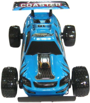 Brunte Blue 1:18 Off The Road Car With Rechargeable Battery And Round Reomte