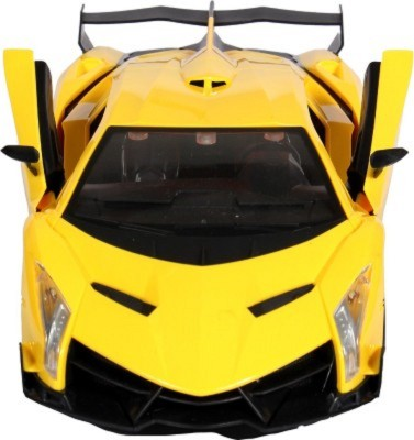 RIANZ Remote Controlled Yellow Lamborghini with opening doors 1:14