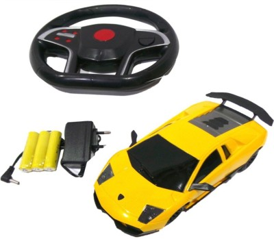 Sunflower Products Gravity Sensing Recharable Remote Control Car-Yellow