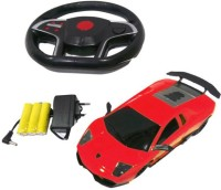 A R ENTERPRISES Gravity Sensing Recharable remote control car-Red
